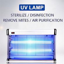 36w Uv Desinfection Lamp Uvc Home Uv Lamp Disinfects Ozone Led Uvc Sterilizer Mask Phone Disinfect Led Germicidal Light Wall LED