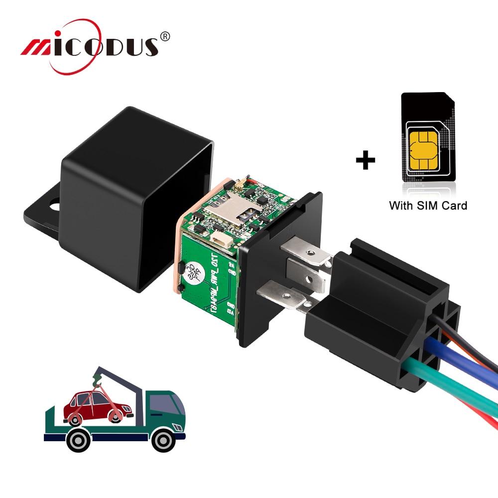 Relais Auto Tracker Mini GPS Tracker MV730 Fern Cut off Öl Fahrzeug Tracker Realtime Tracking Tracker ACC Erkennung Schlaf Modus