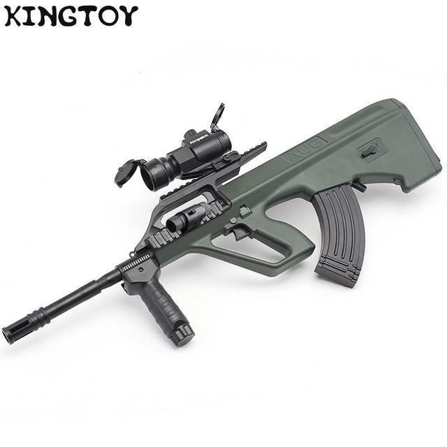 AUG Airsoft Manual +electric BB Or Gel Airsoft Gun Safety Cs Shooting Game Paintball Airsoft Air Guns 6