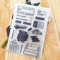 Горячая Распродажа, прозрачная печать для чтения, 11*16 см, прозрачная печать, силиконовая детская печать, сделай сам, альбом для скрапбукинга/...