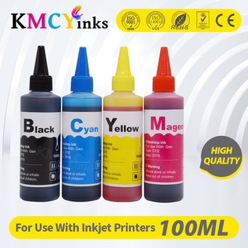 KMCYinks Universal Dye Ink For HP 178 364 564 655 678 862 711 920 932 933 934 935 950 951 953 954 955 970 971 XL Inkjet Printer image