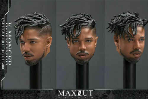 1 6 Leopard Head Sculpt K Monger Km 001maxnut Studio Calm Black Panther Inverse Fit 12 Male Action Figure Aliexpress