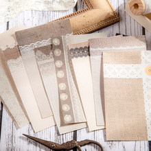 30 stücke Antike spitze Mix Material Papier Junk Journal Planer Handwerk Papier Scrapbooking Vintage Dekorative DIY Handwerk Fotoalben