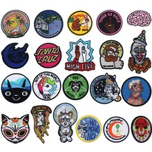 Cats and Dogs Iron On Patches Badges for Sew Seam Tailoring
