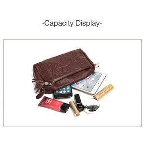 Image 5 - Bolso de piel auténtica para mujer, bandolera de diseñador con borlas