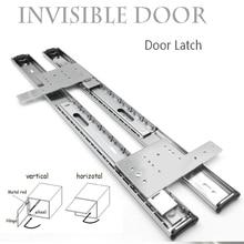 Furniture Hardware Cabinet-Rail-Hidden-Door Door-Hinges-Wood Side-Loading-Push Pull Looping