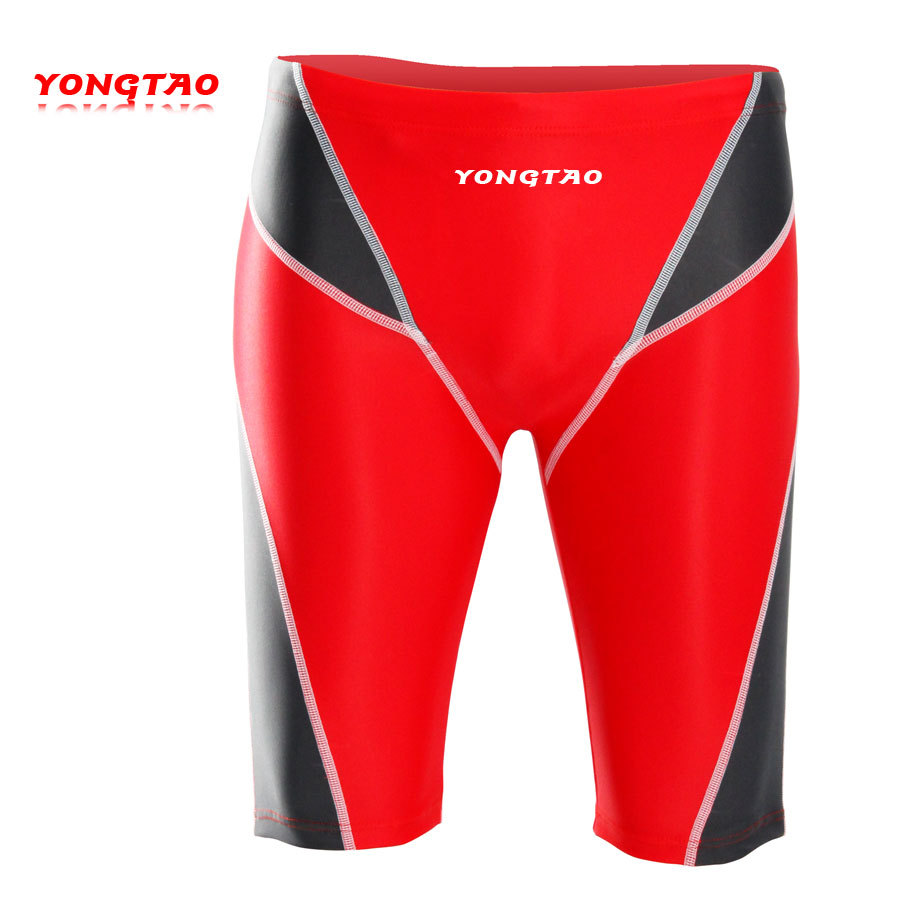 2013 Brand New Yong Tao Men Knee-Length Short Chlorine-Resistant 5 Swimming Trunks 9101