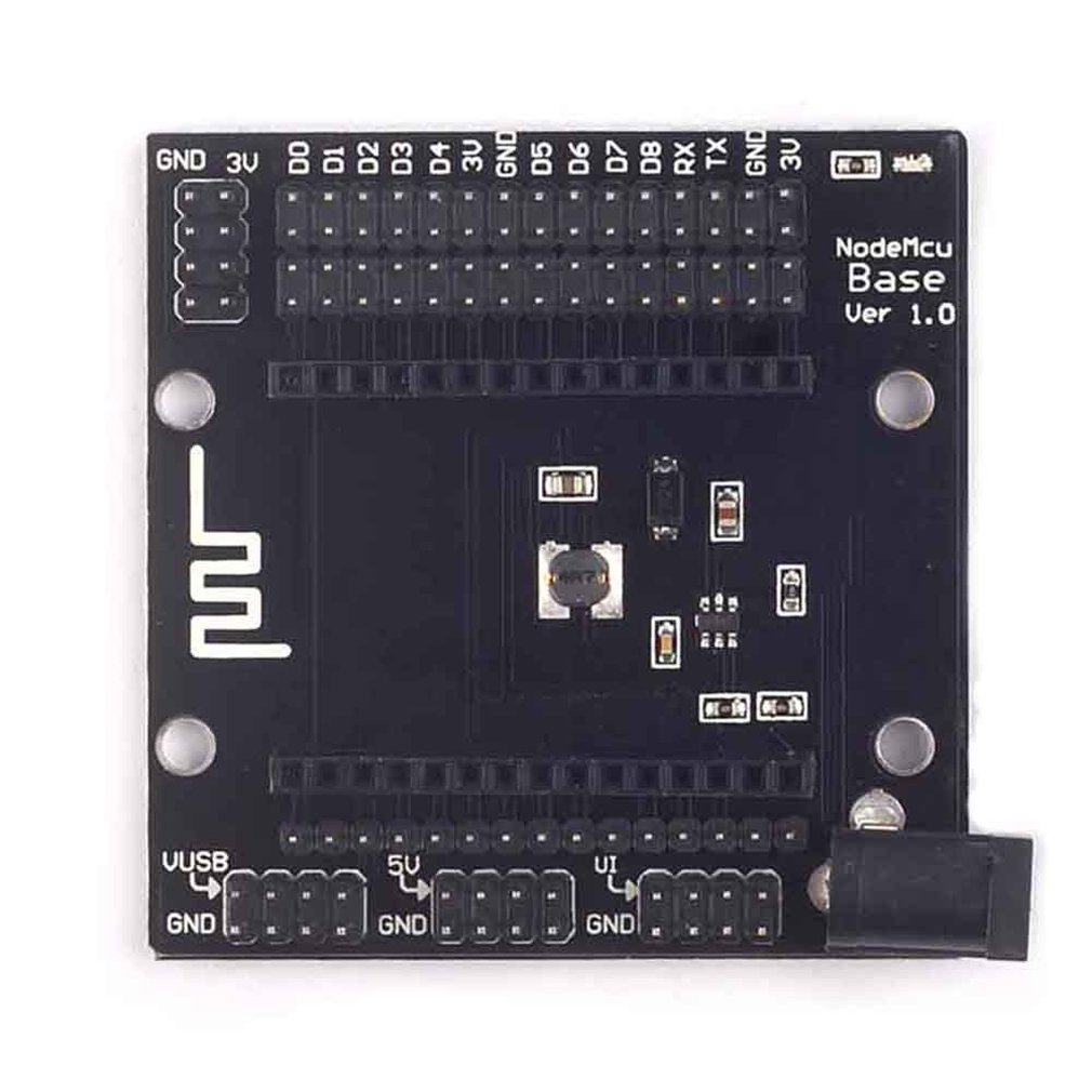 Nodemcu V3 Backplane Nodemcu Lua Esp8266 Wifi Development Board Base Analog IO Port Easily Connected