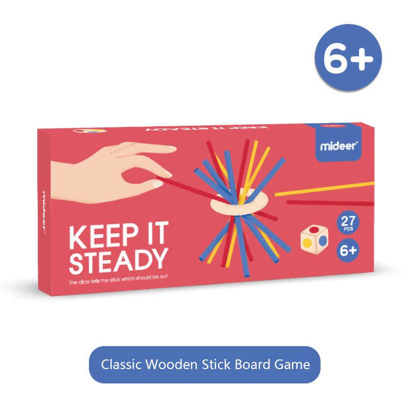 Mideer Bambini Gioco da Tavolo Maiale Costruire Spiedi Genitore-Bambino Interactive Puzzle per Bambini Giocattoli Educativi Giocattolo Divertente Dei Capretti Regali