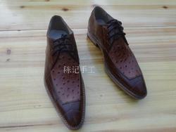 Свадебные модельные кожаные туфли ручной работы из телячьей кожи; Кожаные туфли для мужчин на заказ; Туфли дерби из коровьей кожи