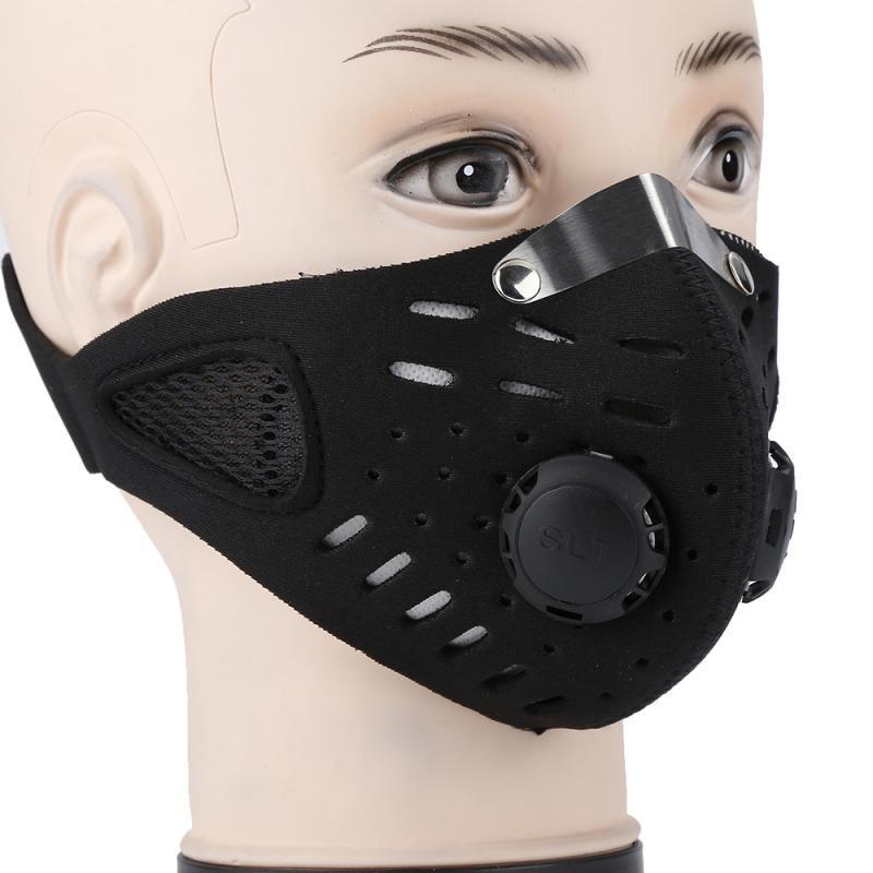 black anti virus mask