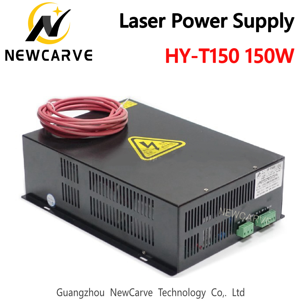 HY-T150 150W CO2 Laser Power Supply For 150W 130W  Laser Tube Laser Cutting Machine NEWCARVE