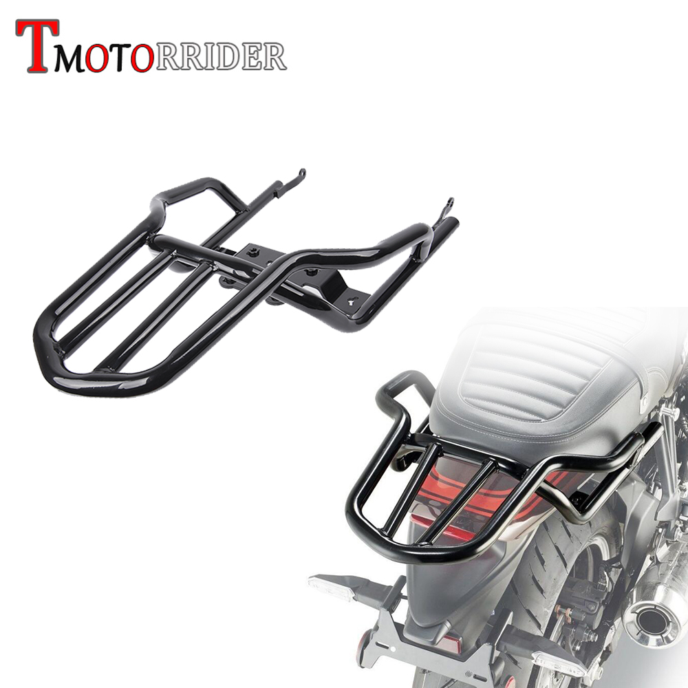 Motorcycle Rear Luggage Rear Rack Carrier Shelf Tail Frame Carrier For 2018 Kawasaki Z900RS Z 900 RS ABS/ Cafe ABS