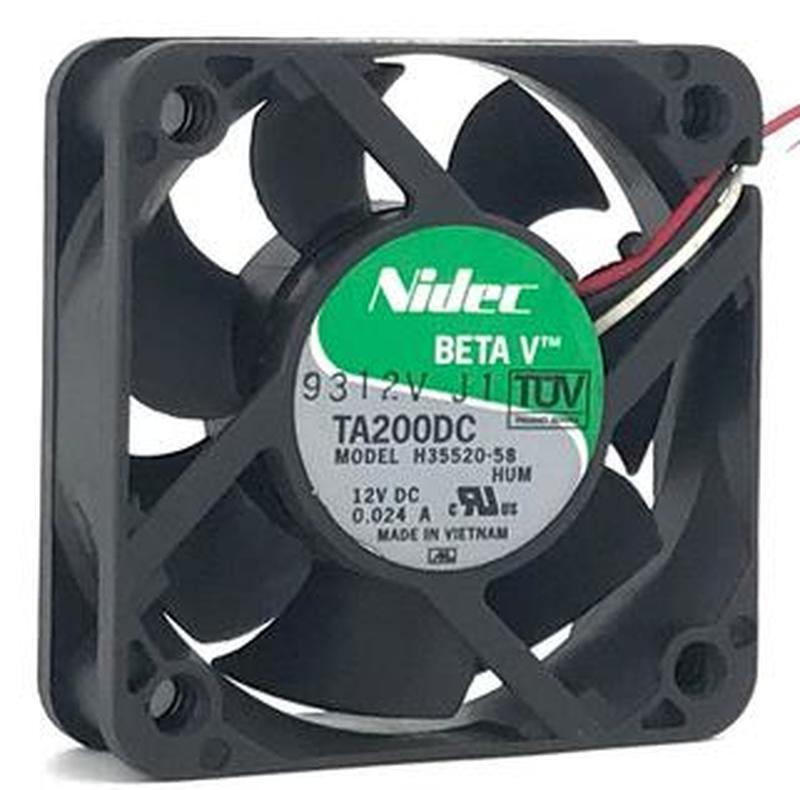 TA200DC H35520-58 12V 0.024A 5CM 5015 50*50*15MM 3-проводной ультратихий вентилятор
