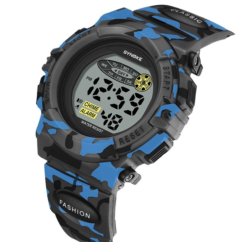 SYNOKE Kids Children Digital Electronic Watch LED Watches Stop Watch Clock For Boys Girls Waterproof Watches Relogio Infantil / Для мальчиков и девочек водонепроницаемый часы Relogio Infantil