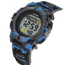 Synoke детские цифровые электронные часы светодиодные секундомер