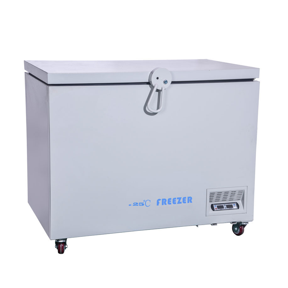 -25 Degrees Energy-saving Chest Freezer,horizontal Freezing Medical Use Refrigerator  Vaccines Industrial Experiment Box