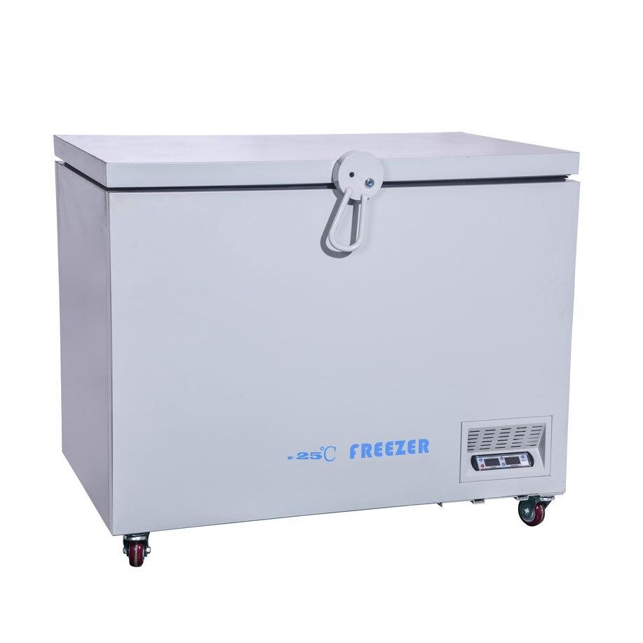 -25 Degrees Energy-saving Chest Freezer,horizontal Freezing Medical Use Refrigerator  Vaccines Industrial Experiment Box