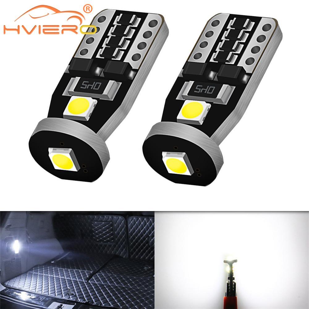 2X T10 Auto Innen Lesen Dome Led W5W Reverse Led Kennzeichen Licht Bremse Stamm Birne 12V Freiheit Signal licht Auto Styling