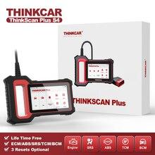 THINKCAR Thinkscan Plus S4 Miễn Phí Trọn Đời Tùy Chọn 3 Đặt Lại Xe Công Cụ Chẩn Đoán ECM/Tphcm/ABS/SRS/BCM Hệ Thống OBD2 Tự Động Máy Quét