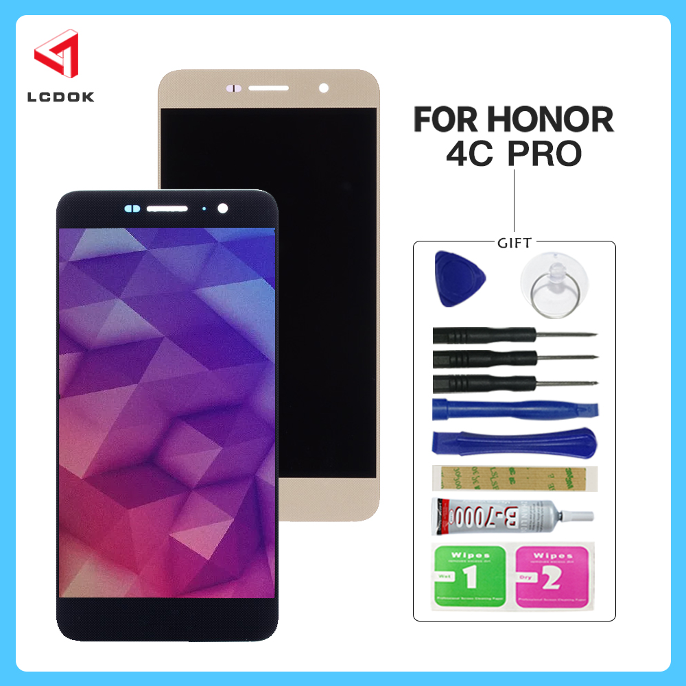 100% Tested <font><b>LCD</b></font> <font><b>For</b></font> <font><b>Huawei</b></font> <font><b>Honor</b></font> <font><b>4C</b></font> Pro Y6 Pro TIT-L01 <font><b>LCD</b></font> Display <font><b>Touch</b></font> Screen Digitizer Assembly <font><b>Panel</b></font> Replacement Parts image