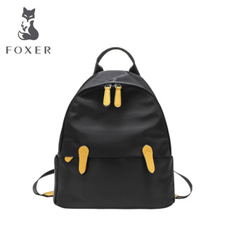 FOXER canvas women backpack quality designer bags famous brand women bags 2020 new Leisure women backpack