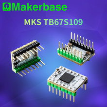 5 шт./партия, запчасти для 3D-принтера StepStick MKS TB67S109 Драйвер шагового двигателя, поддерживающий 1/32 микрошагов и максимальный ток 3.3A