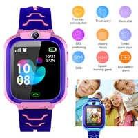 Children Smart Watch GPS tracker Watches kids Sport Watch Smart Phone IP67 no waterproof Swimming SOS call camera 1.44