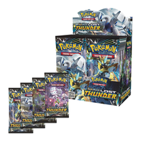 364 pièces carte Pokemon TCG: soleil & lune lampe interdite Booster scellé boîte à collectionner bataille pokemon jeu de cartes enfant jouets