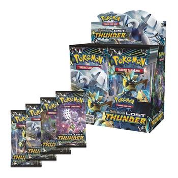 364pcs card Pokemon TCG: Sun & Moon Forbidden Light Booster Sealed Box Collectible Trading battle pokemon Card Set Child Toys
