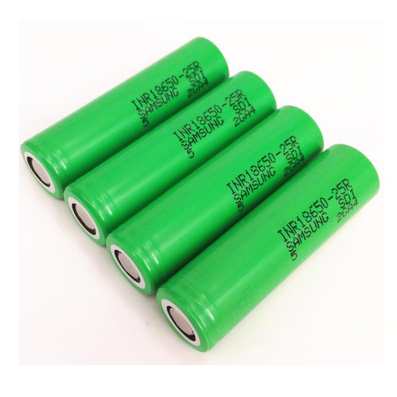 3.7v 2500mah 20a INR18650-<font><b>25R</b></font> <font><b>25R</b></font> M Rechargeable Lithium <font><b>18650</b></font> Battery for <font><b>Samsung</b></font> <font><b>18650</b></font> Battery image
