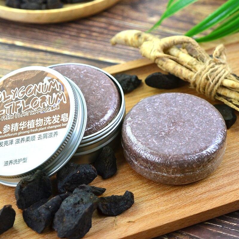 Silicone-free Shampoo Soap 100% Natural Organic Conditioner Repair Soap Nourishing Hair Darkening Handmade Soap Hair Care TSLM2