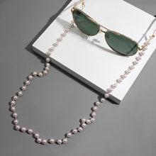 JUST FEEL Charm Women Reading Pearl Glasses Chain Eyeglass Chain Anti-slip Eyewear