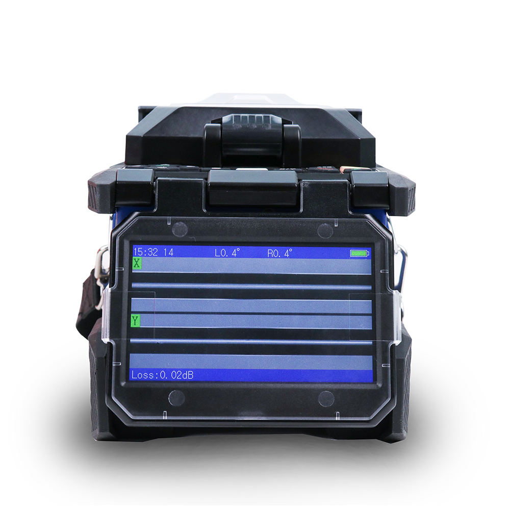 FREE SHIPPING Orientek T45 Fusion Splicer+SV20A SM 1310//1550nm 32//30dB Tool Kit