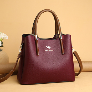 Leather Casual Crossbody Bags for Women 2020 Ladies Luxury Designer Tote Handbag Top-Handle High Quality Shoulder Bag Sac A Main 2