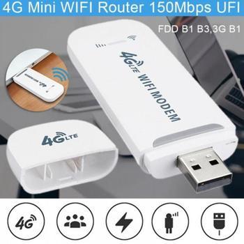 Mobilna łączność szerokopasmowa Modem karta SIM akcesoria do telefonu komórkowego wzmacniacze sygnału bezprzewodowy WIFI odblokowany klucz USB 4G LTE tanie i dobre opinie NONE CN (pochodzenie) network Card Qualcomm 9200 White black 95x33mm 100mbps 50mbps standard USB interface 1234567890 B1 and B3 FDD 3G B1