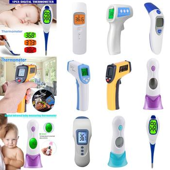 Infrared Thermometer gun baby Adults fever Non contact Temperature Meter Handheld LCD Measuring Forehead Digital Best Accuracy