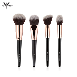 Image 5 - Anmor Make Up Kwasten Professionele Make Up Borstel 1 Pcs Foundation Poeder Concealer Contour Blush Borstel Zachte Haar Cosmetische Tool