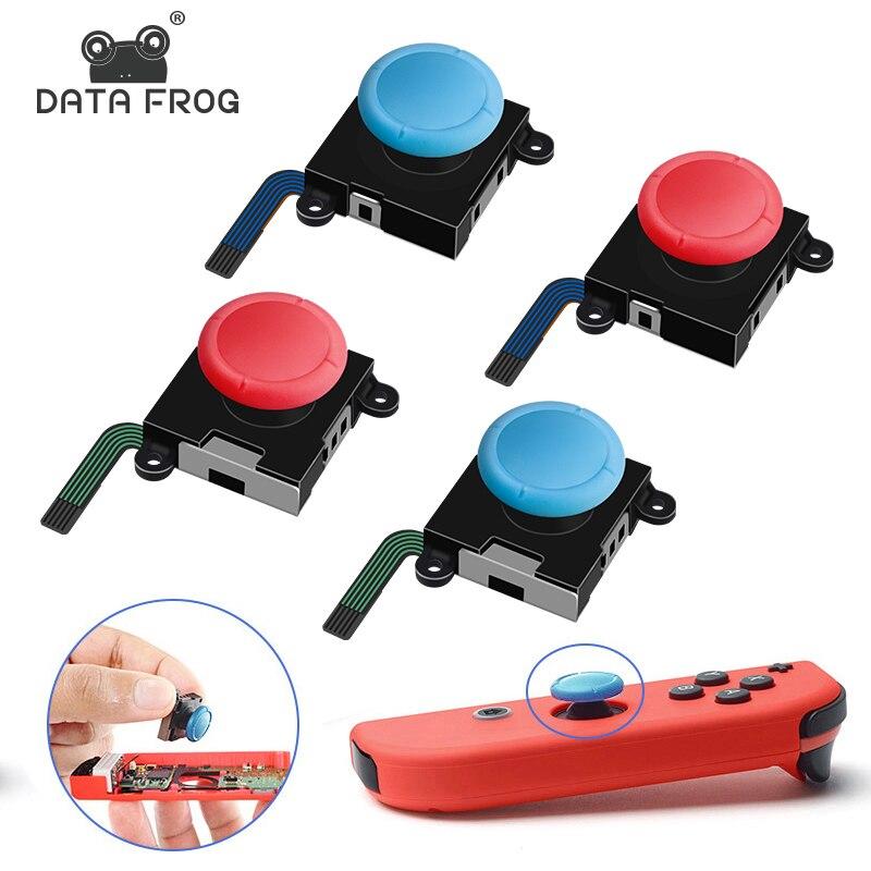 Reemplazo de palanca de mando analógica 3D para Nintendo Switch Joy Con controlador Módulo Sensor potenciómetro herramienta de reparación