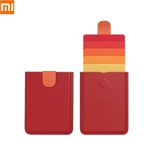 Card-Holder Position New Daxv3 Pull-Card-Case Coin-Purse Business ID Gradient Coler Portable