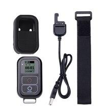 Go Pro WiFi Afstandsbediening + Lader Kabel Polsband Waterdichte GoPro Remote Case voor Hero 8 7 6 5 zwart 4 sessie 3 + Accessoire