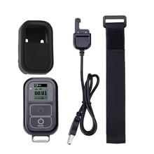 Go Pro WiFi Control Remoto + Cable cargador correa de muñeca impermeable GoPro funda remota para Hero 8 7 6 5 negro 4 Sesión 3 + accesorio