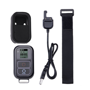 Image 1 - Go Pro WiFi Remote Control+Charger Cable Wrist Strap Waterproof GoPro Remote Case for Hero 8 7 6 5 Black 4 session 3+Accessory