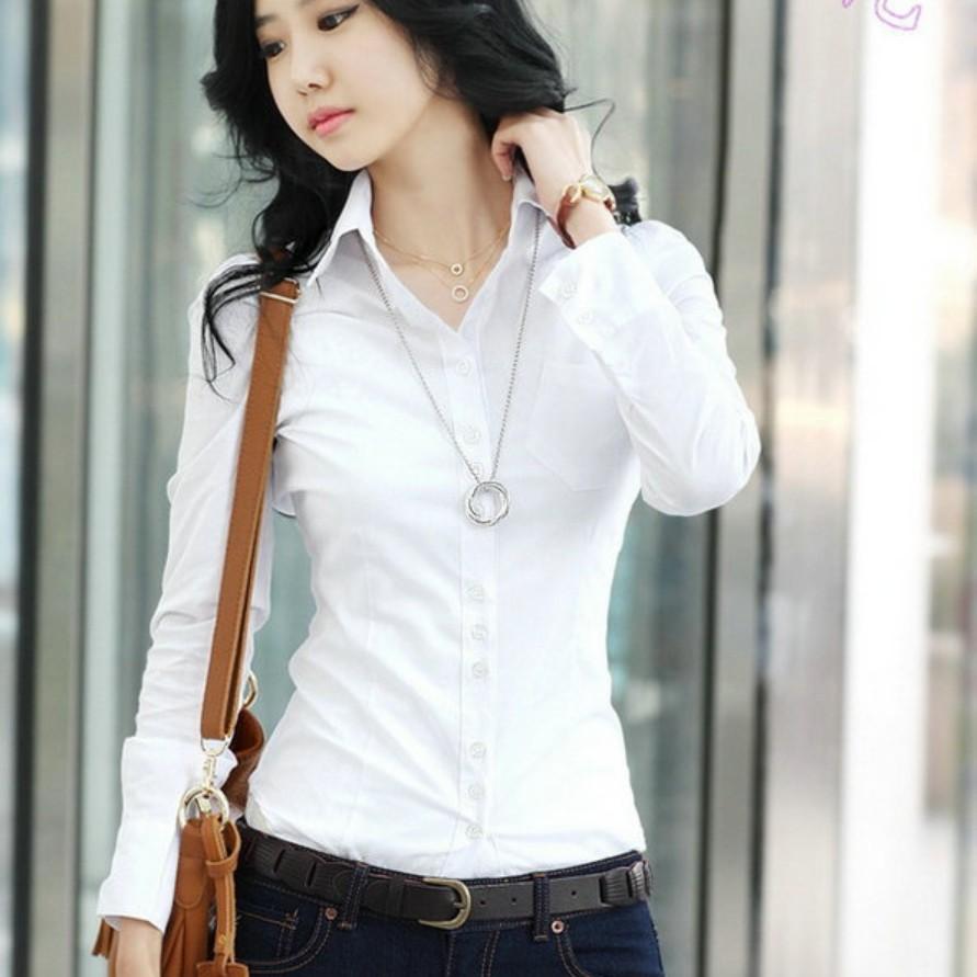 10XL Plus Size Womens Tops Spring 2020 Korean White Blouses Casual Long Sleeve Ladies Shirts Black Blouses 5XL Shirt Ladies Tops
