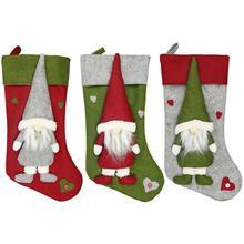 Christmas Faceless Doll Decoration Socks Gift Bag Nordic Land God Tree Ornament Santa Claus Pendant
