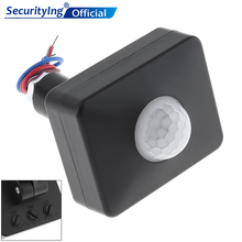 Mini Switch AC 110-220V LED Infrared PIR Motion Sensor Project Lamp Switch for Outdoor Indoor