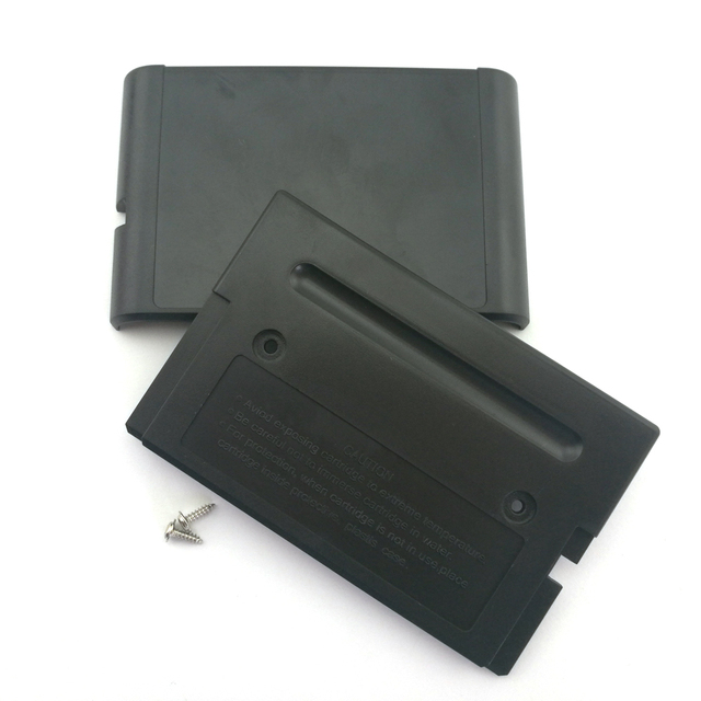 10pcs Game Cartridge Case Replacement Plastic Shell case for SEGA MEGADRIVE MD for  GENESIS 2