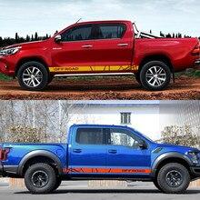 Pour Ford Ranger Dodge Isuzu Dma Nissan NAVARA Toyota Hilux Mitsubishi L200 hors route 4X4 autocollant de voiture décalque Tuning accessoires de voiture