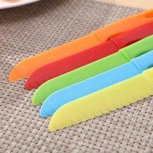 Cutter Fruit-Knife Knive Chef Bread-Lettuce Safe Cooking Plastic Toddler Kids Children