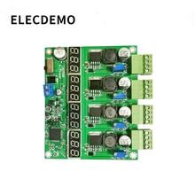 Module dalimentation multi canaux quatre écrans numériques, module dalimentation LM2596, à sortie DC DC réglable